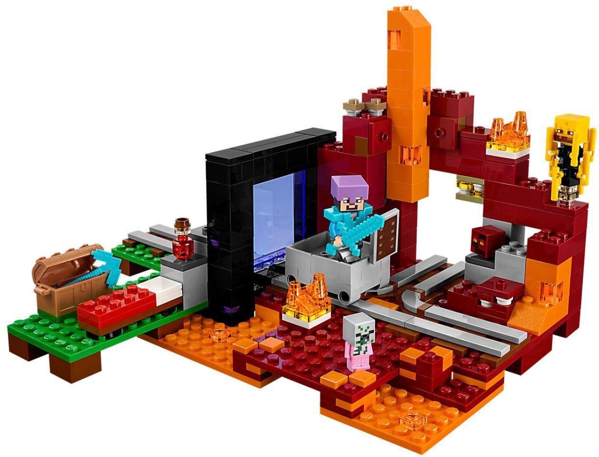 LEGO® 21143 Netherportal LEGO® Minecraft™ - VELIS Spielwaren GmbH