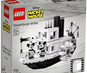 LEGO® 21317 Steamboat Willi
