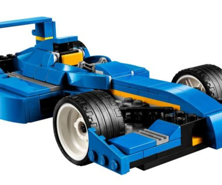 LEGO® 31070 Turbo Rennwagen 3in1