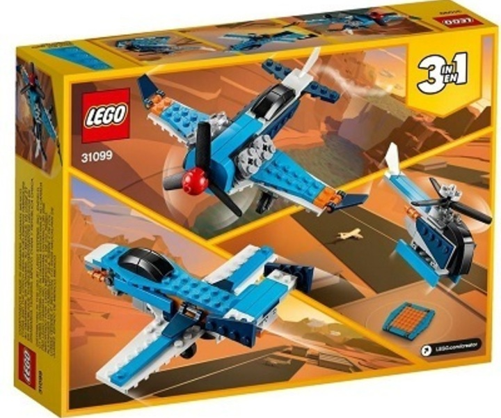 LEGO® 31099 Propellerflugzeug 3in1