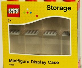 Minifig Display 8er rot