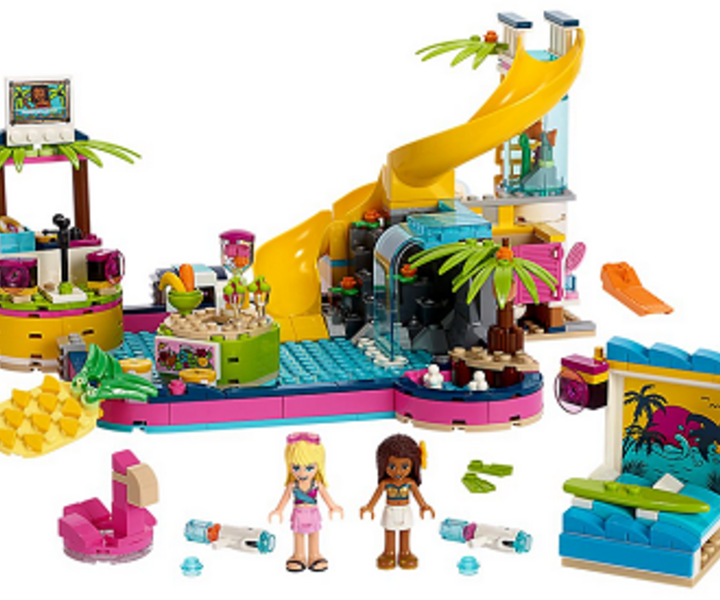 LEGO® 41374 Andreas Pool-Party