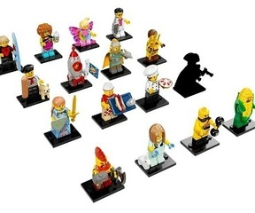 71018 Minifig. Serie 17 sortier