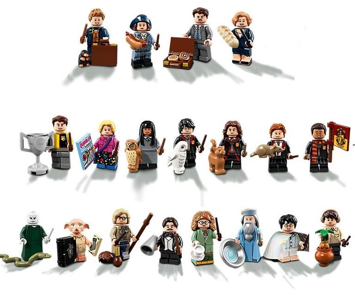 LEGO® 7102221 Harry Potter™ Sammelserie 21er Set