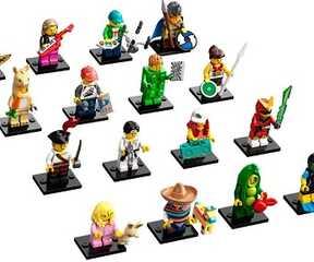 LEGO ® Minifiguren Zubehör Sammel Serie Farbpalette für Künstler Maler
