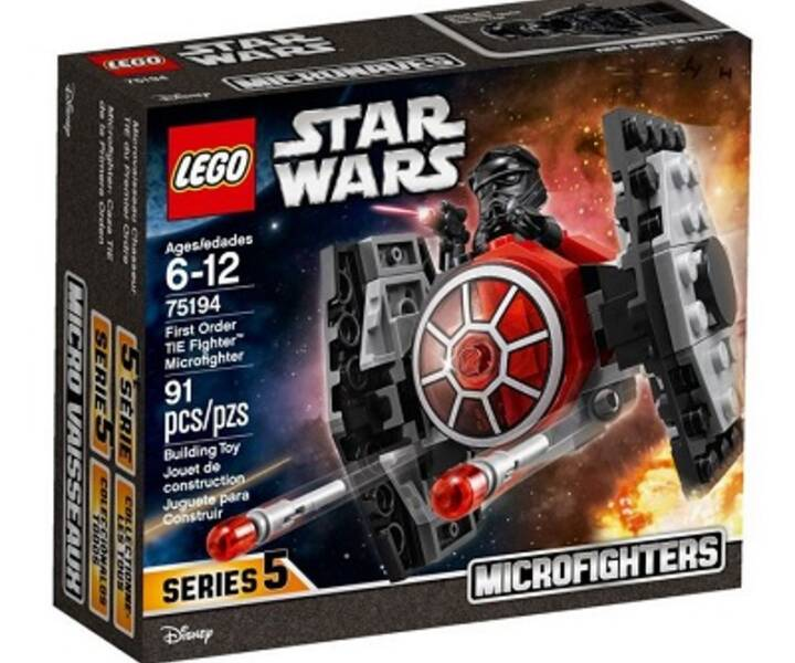 LEGO® 75194 First Order TIE Fighter™ Microfighter