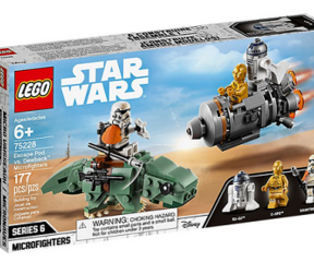 LEGO® 75228 Escape Pod vs. Dewback™ Microfighters