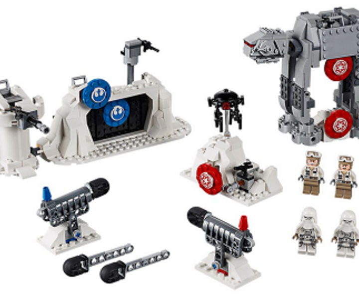 LEGO® 75241 Action Battle Echo Base™ Verteidigung
