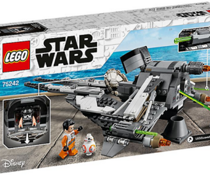 LEGO® 75242 TIE Interceptor™ – Allianz-Pilot