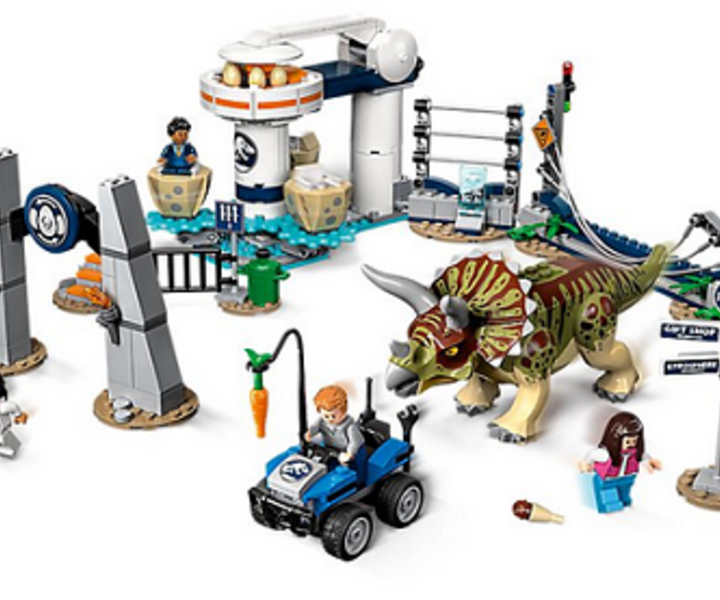 LEGO® 75937 Triceratops-Randale