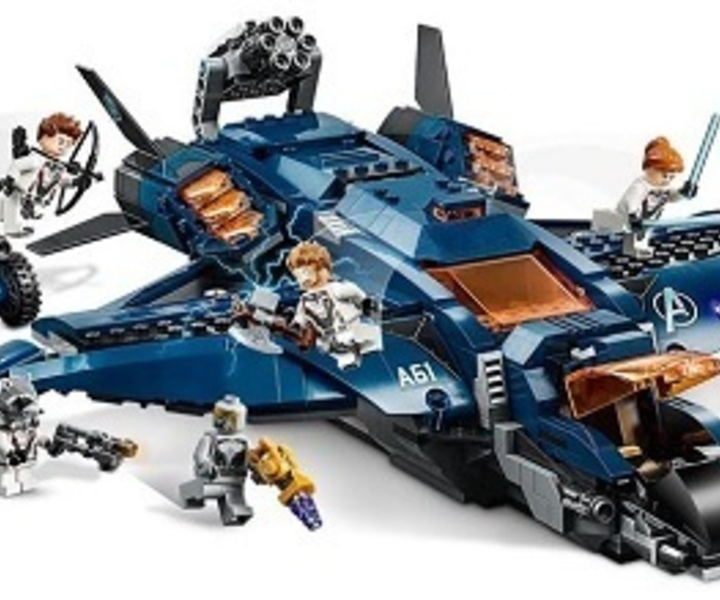 LEGO® 76126 Ultimativer Avengers-Quinjet