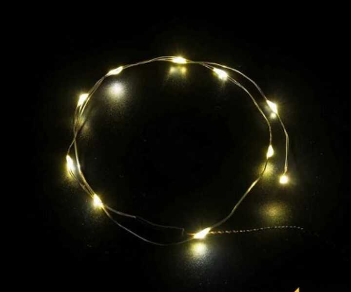 LMB 810072 LED Light String - Warm White