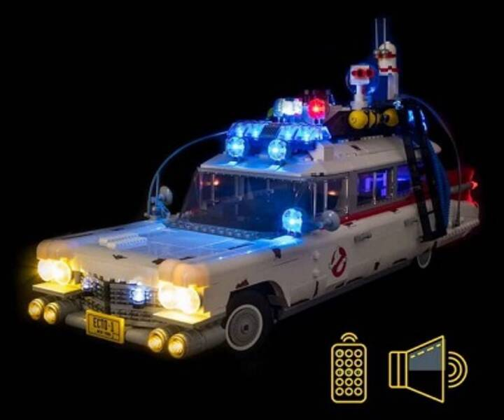 LMB 810274 LED Ghostbusters Ecto-1 LEGO® 10274 Light & Sound Kit