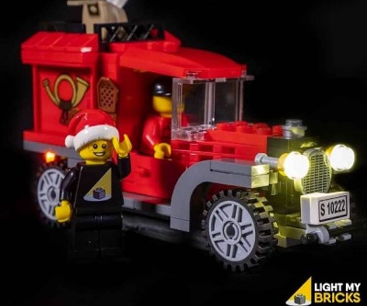 LMB 910222 LED Beleuchtungs Set Winter Post Office LEGO® 10222