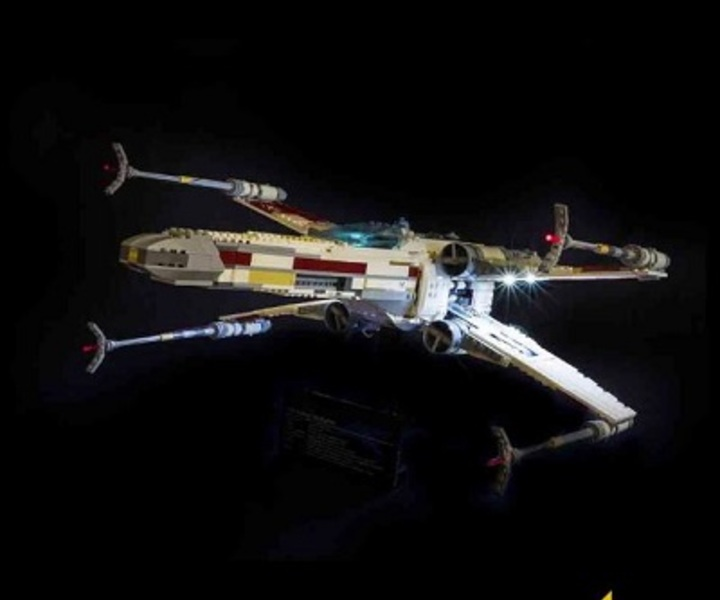 LMB 910240 LED Beleuchtungsset UCS RED FIVE X-WING STARFIGHTER™ LEGO® 10240