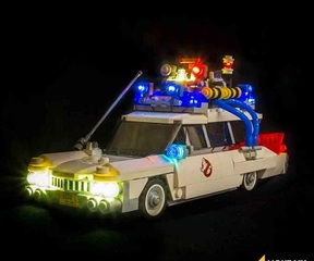 LMB 921108 Ghostbusters Ecto-1