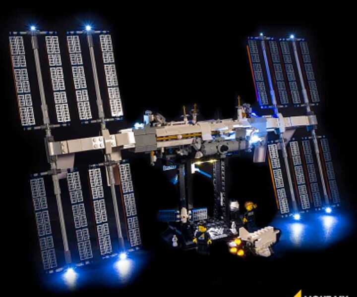 LMB 921321 LED Beleuchtungsset Internationale Raumstation LEGO® 21321