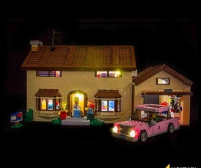 LMB 971006 The Simpsons House