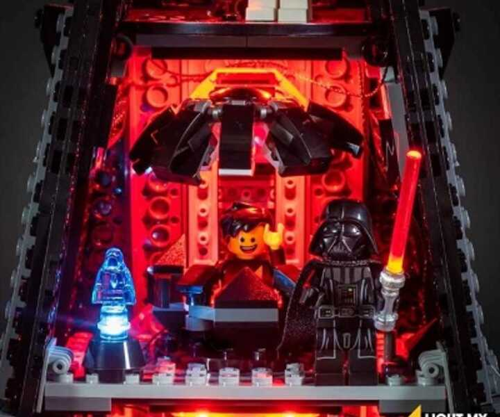 LMB 975251 LED-Beleuchtungsset Darth Vader Castle LEGO® 75251