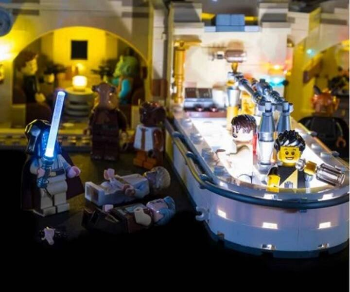 LEGO® 975290 LED Star Wars™ Mos Eisley Cantina 75290