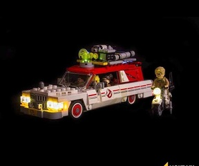 LMB 975828 Ghostbusters Ecto 1&2